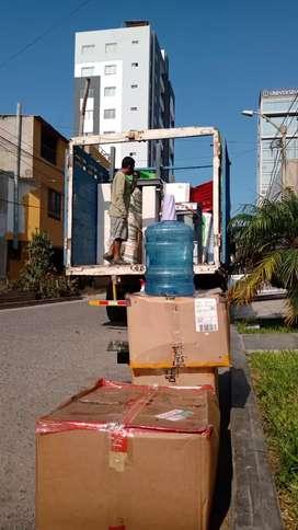 Camión para taxi carga y mudanzas en Trujillo