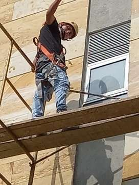 Se necesita  personal para pintar  rejas y trabajos  alturas