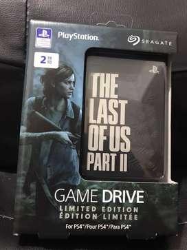 Disco Duro Externo SEAGATE 2TB Edición The Last Of Us 2 Ps4 3.0