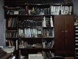 Biblioteca o aparador de madera