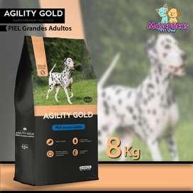 AGILITY GOLD PIEL GRANDES ADULTOS 8K