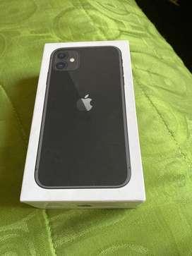 Iphone 11 con 4 meses de uso en exelente estado Color gris oscuro de 64gb