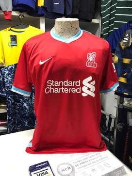Camiseta liverpool roja s al xxl nueva