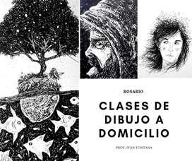 Clases de dibujo a domicilio Rosario