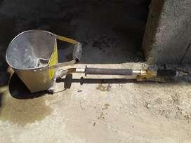 Lanzadora de mortero