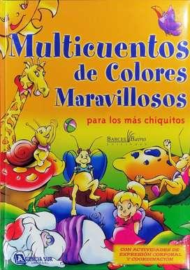 MULTICUENTOS de Colores Maravillosos, para los más Chiquitos