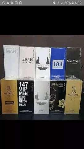 Perfume hombre millanel fragancias primeras marcas