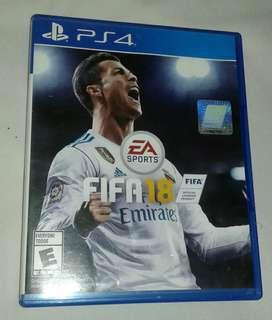 Fifa 18 Original Playsyation 4 ps4