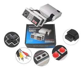 Mini Consola Clasica Retro 620 Juegos Nes Family 8bit