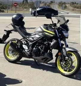 Moto Yamaha Mt03 Impecable El Mejor Color