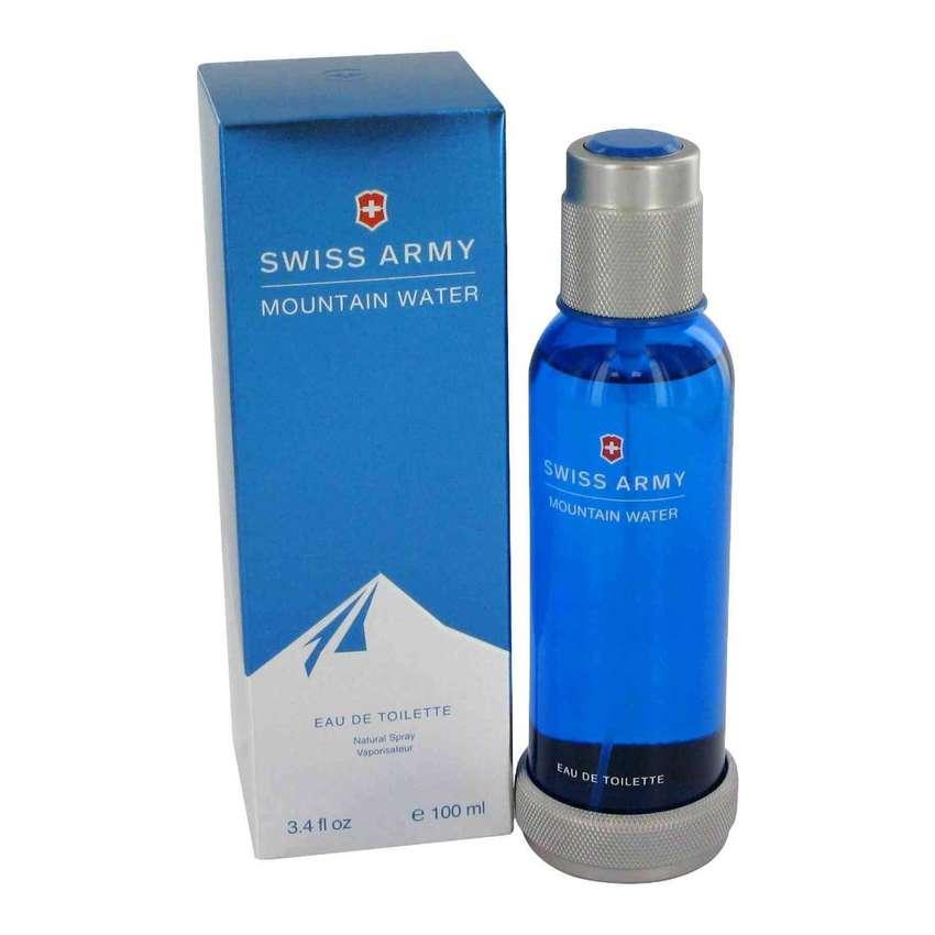 Perfume Swiss Army Mountain Water 100ml Hombre Eros 0