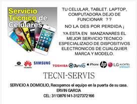 Servicio técnico de computadores - celulares - tablets y todo lo relacionado