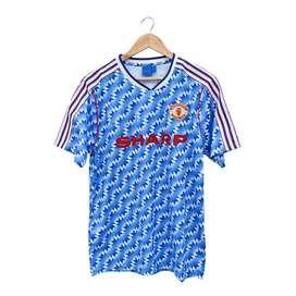 Camiseta Retro Alternativa Manchester United 1990