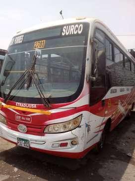 Ocacion Bus hyndai euro 4 año 2013