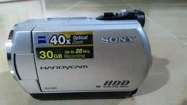 Camara filmadora sony handycam 30Gb