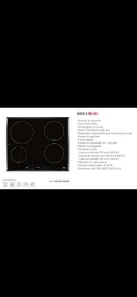 Cocina induccion teka + horno doble teka