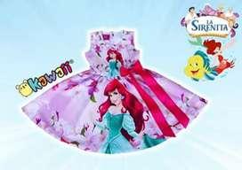 Hermoso Vestido Personalizado Sirenita