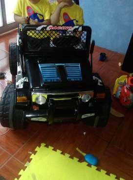 Carro a Batería 2 asientos Jeep