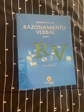 Libro RV Razonamiento Verbal