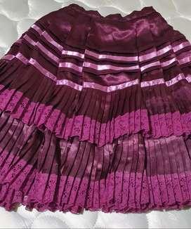 Linda falda de marinera talla 6 _8