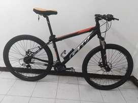 "Bicicleta GW ultra 27.5"" negra"