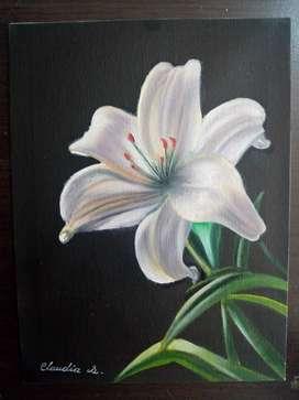 Mini pinturas originales en óleo