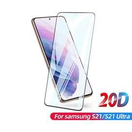 Vidrio Templado Para Samsung S21 S21 Plus Ultra 9d
