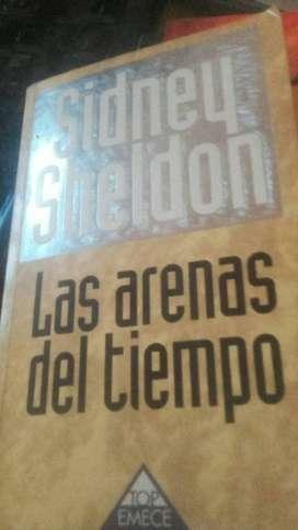 """Vendo libro usado de Sidney Sheldon """"Las arenas del tiempo"""""""
