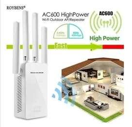Repetidor Amplificador Inalambrico 4 Antenas Wifi 2.4 Ghz