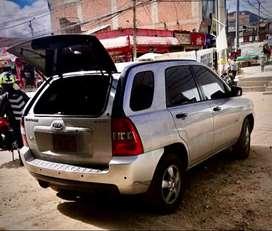Camioneta Kia Sportage, motor disel, papeles al día.