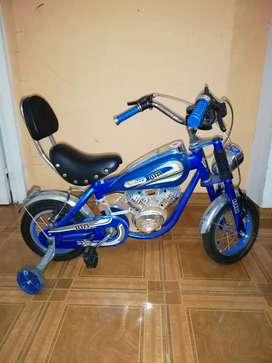 Bicicleta tipo Harley