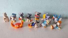 Art 167 Lote de 11 Juguetes Kinder Animales