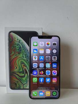 Iphone xs max de 256 gb en caja
