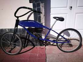 Vendo bici chopera.