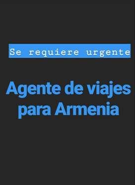 AGENTE DE VIAJES PARA ARMENIA