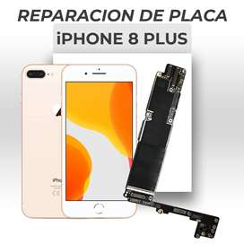 ¡Reparación de Placa de Iphone 8 Plus!