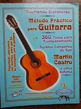 MÉTODO PRÁCTICO PARA GUITARRA  ACORTANDO CAMINOS
