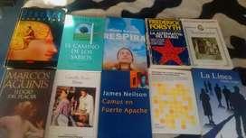 Libros de literatura,pensadores,filosofía,etc