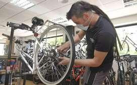 Busco mecanico y asistente para taller de bicicletas
