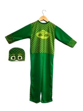 Disfraz Pj Mask Heroes en Pijamas Gekko verde