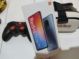 Redmi note 9s Intelestar Blue 4/64 + Palanca Android +Gafas VR