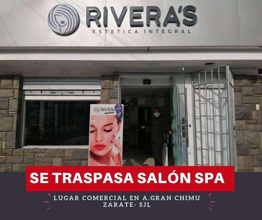 SALÓN DE BELLEZA- TRASPASO 0