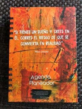 Agenda planeador para cumplir sueños