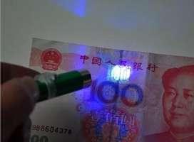 Detector De Billetes Falsos Portátil Ultravioleta