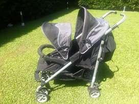Cochecito infante para hermanos .modelo SD210M