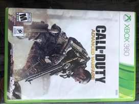 COD Call of Duty Advanced Warfare original XBOX 360 juego usado