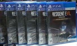 Resident Evil 7 Biohazard Gold Edition Ps4 Nuevo Sellado Stock