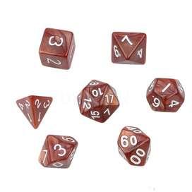 Pack de 7 dados para juegos de ROL