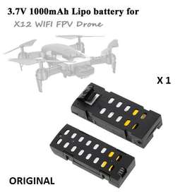 Bateria Drone X12 Q1 3.7v 1000mah Litio