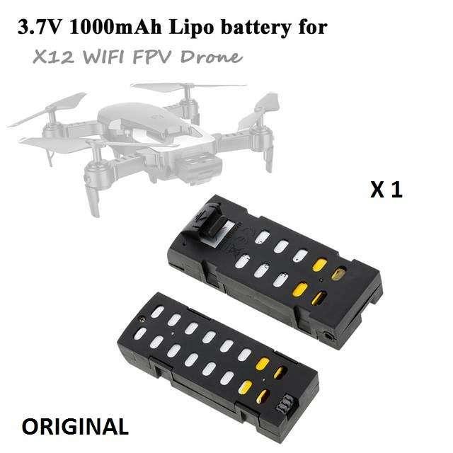 Bateria Drone X12 Q1 3.7v 1000mah Litio 0